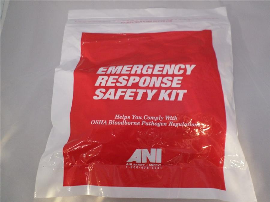 Emergency Response Safety Kit for Bloodborne Pathogens (6...