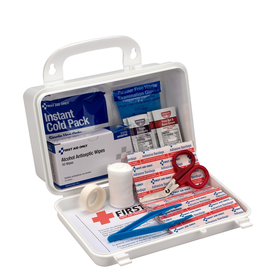 First Aid Only Home/Office/Auto First Aid Kit, 25 Person,...