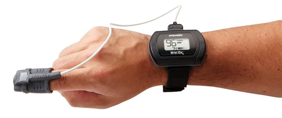 NONIN WristOx2 Starter Kit, 3150SK Wrist-worn Bluetooth P...