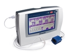 LifeSense Tabletop ETCO2 Monitor with Finger Clip Sensor